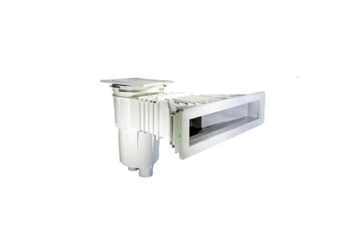 Skimmer NORM 17,5 L piscine prefabbricate con inserti