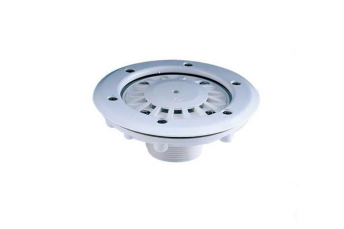 Bocchetta di fondo per piscina prefabbricata Interno d.50mm esterno per interno tubo pvc PN 6