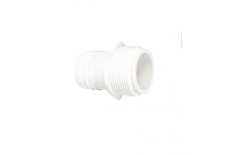 Raccordo connessioni da d. 38mm in abs bianco per bocchette