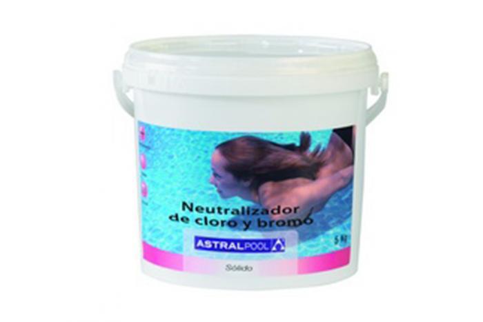 Neutralizzatore di cloro e bromo 6 kg