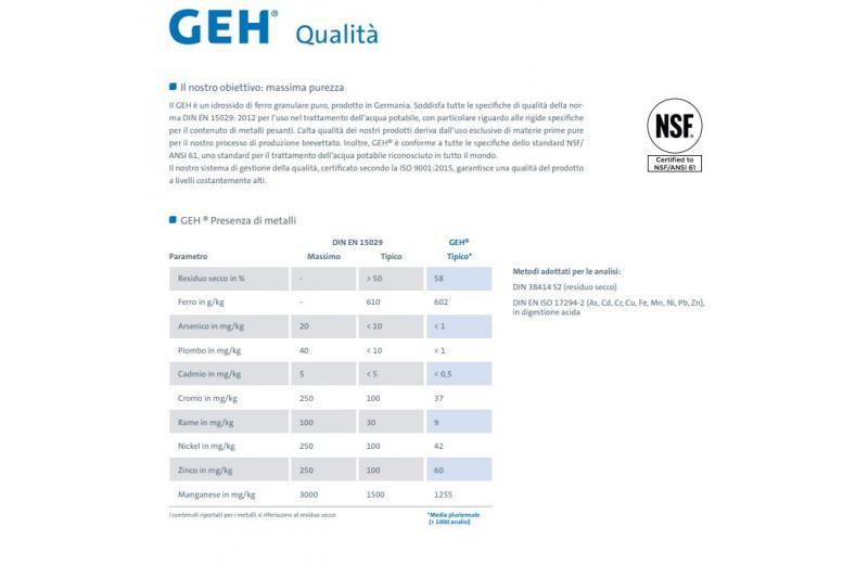 GEH-confezione da 25kg
