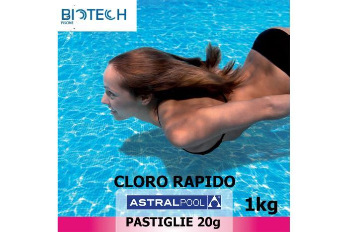 Pastiglie di cloro rapido 1 kg