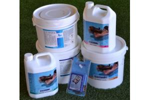 Kit trattamento acque per piscina completo