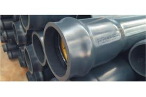 TUBO IN PVC ALTAPRESSIONE PN6 - 2 METRI