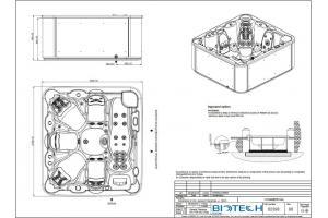 Vasca Spa idromassaggio Select Astralpool da 6 posti